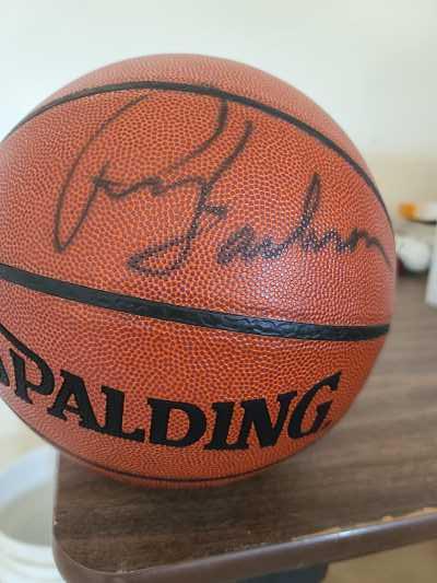Phil Jackson Autographed Basketball 2007 Lakers
